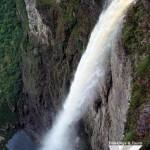 Fumaça Waterfall Chapada Diamantina